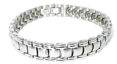 Swell - Stainless Steel Magnetic Therapy Bracelet