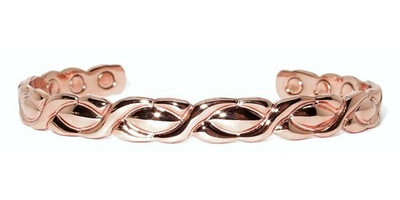 XOXO - Solid Copper Magnetic Cuff