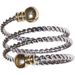 Braided Spiral - Magnetic Therapy Ring