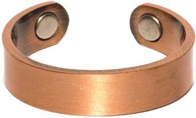 Plain Copper Band - Magnetic Therapy Ring