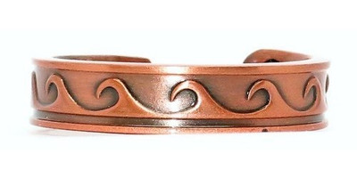 Copper Waves - Magnetic Therapy Ring