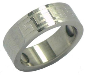 Stainless Steel Magnetic Therapy Ring (WSR1)