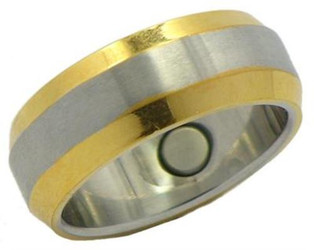 Comfort - Stainless Steel Magnetic Therapy Ring