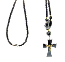 Magnetic Necklace With Cross