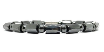 Hematite Faceted - Magnetic Therapy Bracelet