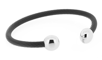 Qray Bracelet - Black and White Deluxe
