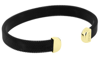 Qray Bracelet - Midnight Series Black and gold-plated Bracelet