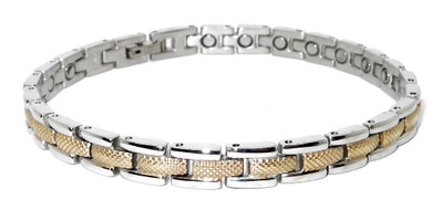 Florence Stainless Steel Magnetic Bracelet