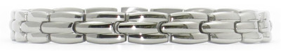 Smooth Sailing - silver-plated  Magnetic  Bracelet