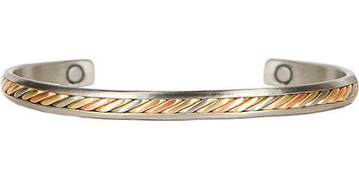 Sergio Lub Mayan - Copper Magnetic Therapy Bracelet - Made in USA!