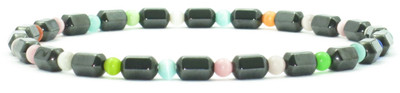 Hematite Colors - Magnetic Therapy Anklet - Special