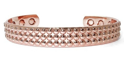 Bubbles - Solid Copper Magnetic Therapy Bracelet