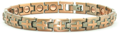Small Crosses  - Magnetic Therapy Bracelet