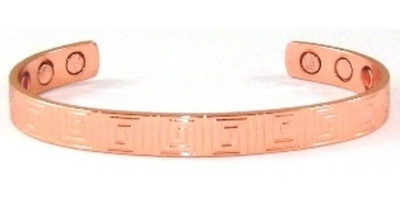 Basic Solid  Copper Cuff Bracelet