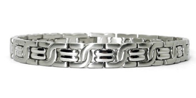 Influence - Stainless Steel Magnetic Therapy Bracelet