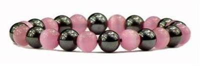 Hematite Pink - Magnetic Therapy Bracelet