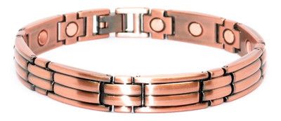 Nitty-Gritty - Copper Magnetic Bracelet