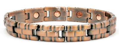 Been There Done That - Copper Magnetic Bracelet
