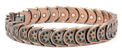 Wild West  - Copper Plated Magnetic Bracelet