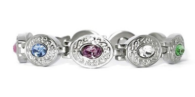 Exquisite Medley Stainless Steel - Magnetic Therapy Bracelet