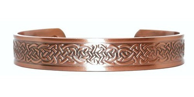 Celtic Braids Solid Copper Magnetic Therapy Bracelet