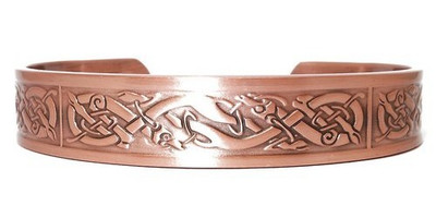 Inspiration Solid Copper Magnetic Therapy Bracelet