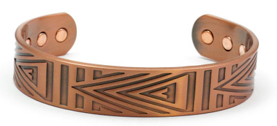 Elation Solid Copper Magnetic Therapy Bracelet