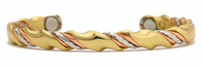 Sergio Lub Ayurveda Copper Magnetic Therapy Bracelet - Made in USA!