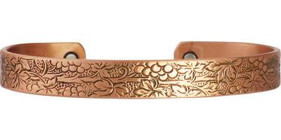 Sergio Lub Vineyard Magnetic Copper Bracelet - Made in USA!