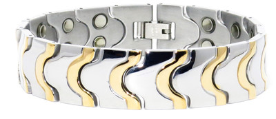 Limitless - Magnetic Therapy Bracelet With Two 5,000 Gauss Magnets Per Link