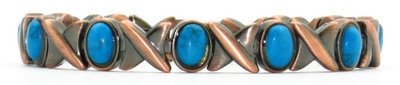 Perfect Match - Copper Plated Magnetic Bracelet