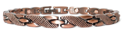 Copper  Dance - Copper Plated Magnetic Bracelet