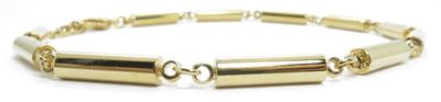 Gold Tone Anklet - gold-plated Magnetic Anklet