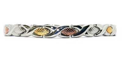3 Color XOXO Stainless Steel Magnetic Bracelet
