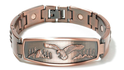 Eagle - Copper Magnetic Therapy Bracelet