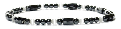 White Play - Magnetic Therapy Anklet