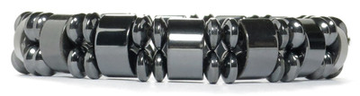 London  - Hematite Magnetic Therapy Bracelet