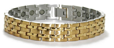 Gold Route - gold-plated  Magnetic  Bracelet