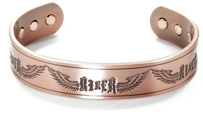 Biker's Glory - Copper Magnetic Therapy Bracelet