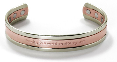 Family - Copper Magnetic Therapy Bracelet