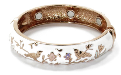Birds in Paradise - Copper Magnetic Therapy Bracelet