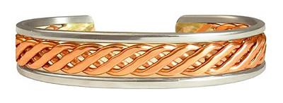 Celtic Copper (689) Classic Copper Bracelet