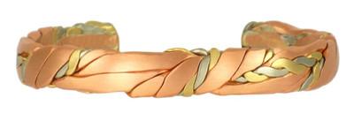 Copper Sage Brushed (378) Classic Copper Bracelet