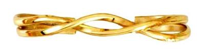 Double Helix (80) Classic Copper Bracelet