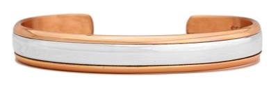 Inner Silver (650) Classic Copper Bracelet