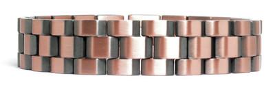 Explorer -  Solid Copper  Magnetic Link Bracelet