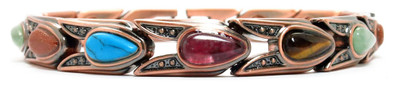 Affinity - Copper Plated Magnetic Bracelet - !