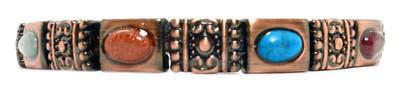 Roman Impressions - Copper Plated Magnetic Bracelet - !