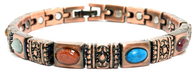 Roman Impressions - Copper Plated Magnetic Bracelet - !