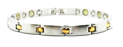 Connection -  Stainless Steel Magnetic Therapy  Bracelet